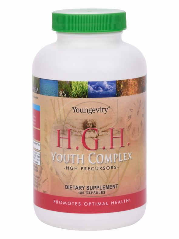 H.G.H. Youth Complex - HGH Precursors (4 bottles)