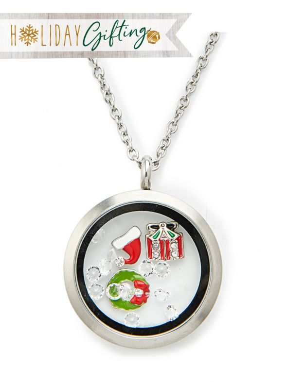Holly Jolly Locket