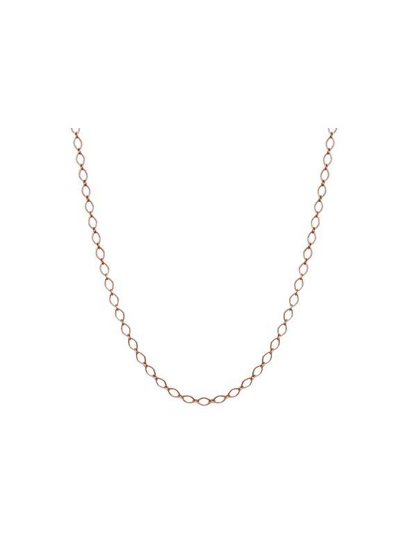 "Rose Gold Sofia Chain: 16-19"""