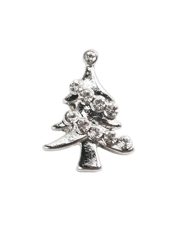 Large Crystal Tree Charm